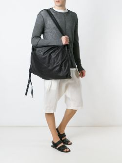 Oversized Shoulder Bag Isabel Benenato                                                                                                              черный цвет