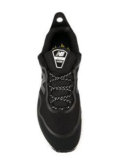 Кроссовки На Контрастной Подошве New Balance                                                                                                              чёрный цвет