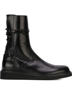 Lace-Up Boots Ann Demeulemeester                                                                                                              чёрный цвет