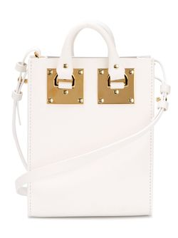 Albion Cross Body Bag Sophie Hulme                                                                                                              белый цвет