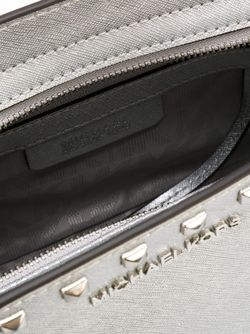 Medium Selma Crossbody Bag Michael Michael Kors                                                                                                              серебристый цвет