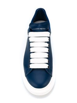 Larry Extended Sole Sneakers Alexander McQueen                                                                                                              синий цвет