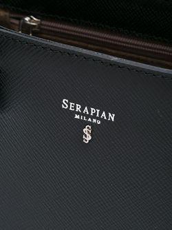 Сумка-Тоут Serpian Serapian                                                                                                              черный цвет