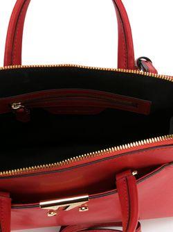 Маленькая Сумка-Тоут Emporio Armani                                                                                                              красный цвет