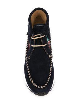 Хайтопы Totem Philippe Model                                                                                                              синий цвет