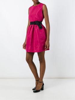 Расклешенное Платье Без Рукавов Red Valentino                                                                                                              розовый цвет