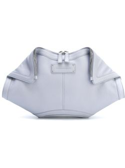 Клатч De Manta Alexander McQueen                                                                                                              серый цвет