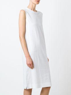 Платье Без Рукавов DKNY                                                                                                              белый цвет
