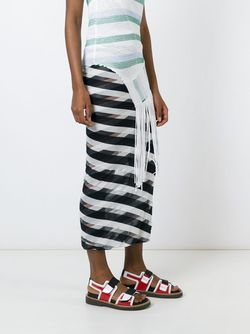 Checks Pencil Skirt Stella Mccartney                                                                                                              синий цвет