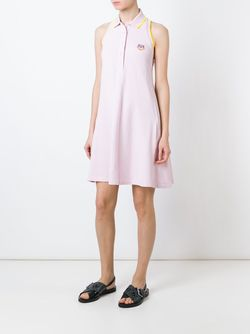 Tiger Polo Dress Kenzo                                                                                                              розовый цвет