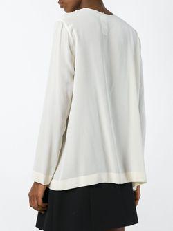 Блузка На Молнии SportMax                                                                                                              Nude & Neutrals цвет