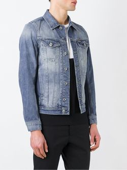 Джинсовая Куртка Diesel                                                                                                              синий цвет
