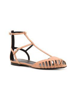 Сандалии С Ремешками Giuseppe Zanotti Design                                                                                                              коричневый цвет