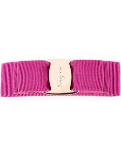 Vara Hair Clip Salvatore Ferragamo                                                                                                              розовый цвет
