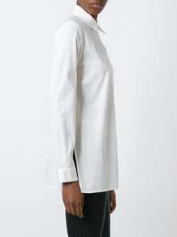Strap Detail Shirt MM6 by Maison Margiela                                                                                                              Nude & Neutrals цвет