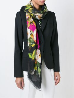 Шарф С Цветочным Принтом Dolce & Gabbana                                                                                                              многоцветный цвет
