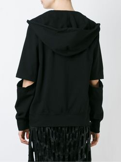 Cut-Out Detail Hoodie NICOPANDA                                                                                                              чёрный цвет