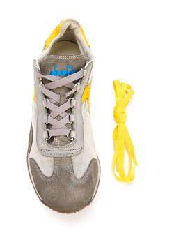 Кроссовки С Панельным Дизайном Diadora                                                                                                              серый цвет