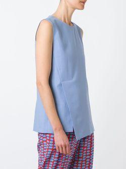 Asymmetric Top Stella Mccartney                                                                                                              синий цвет
