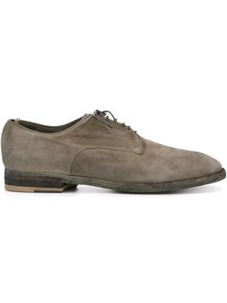 Distressed Derby Shoes Officine Creative                                                                                                              серый цвет