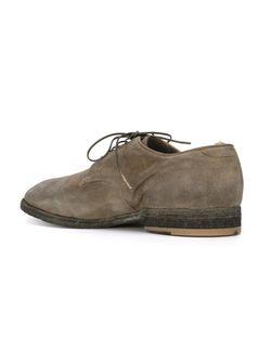 Distressed Derby Shoes Officine Creative                                                                                                              серый цвет