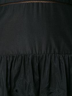 Embroidered Playsuit Thakoon                                                                                                              черный цвет