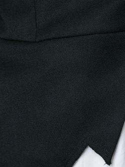 Asymmetric Zig Zag Blazer COMME DES GARCONS HOMME PLUS                                                                                                              черный цвет