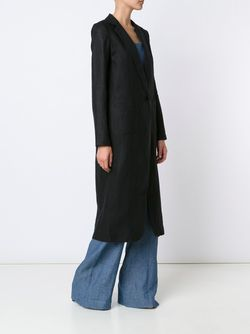 Slit Back Duster Coat NOMIA                                                                                                              черный цвет