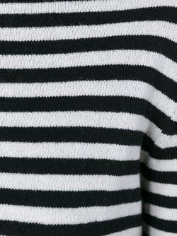 Полосатый Джемпер Haider Ackermann                                                                                                              чёрный цвет