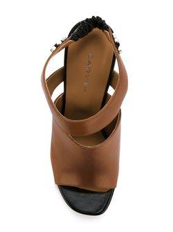 Stiletto Sandals Carven                                                                                                              коричневый цвет
