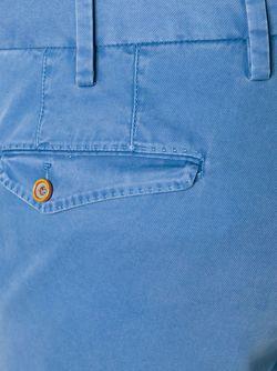 Брюки Кроя Слим Pt01                                                                                                              синий цвет