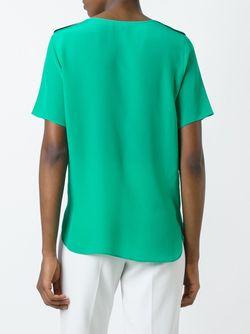 Round Neck Top Paul Smith Black Label                                                                                                              зелёный цвет