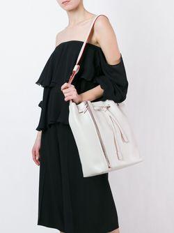 Large Bucket Bag Elena Ghisellini                                                                                                              белый цвет