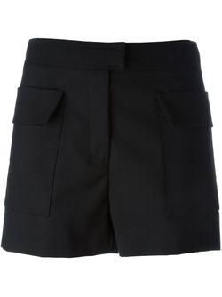 Side Pockets Shorts MSGM                                                                                                              черный цвет