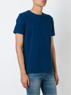 Футболка Marvin Edwin                                                                                                              синий цвет