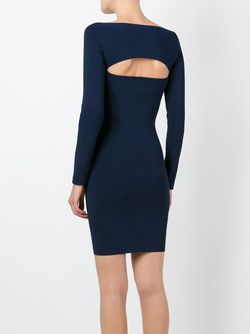 Cut-Out Ribbed Dress T By Alexander Wang                                                                                                              синий цвет