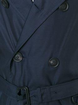 Тренч С Поясом Burberry Prorsum                                                                                                              синий цвет