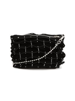 Studded Folded Shoulder Bag Comme Des Garcons                                                                                                              чёрный цвет