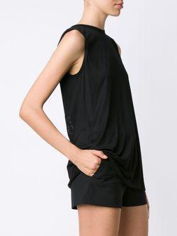 Топ С Вышивкой Из Бусин Vera Wang                                                                                                              черный цвет