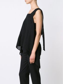 Draped Top LOST AND FOUND                                                                                                              черный цвет