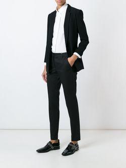 Front Pleat Trousers Incotex                                                                                                              черный цвет