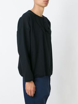 Logo Print Sweatshirt SOCIETE ANONYME                                                                                                              чёрный цвет