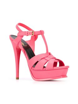Tribute Sandals Saint Laurent                                                                                                              розовый цвет