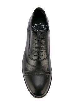 Классические Ботинки Дерби Santoni                                                                                                              черный цвет
