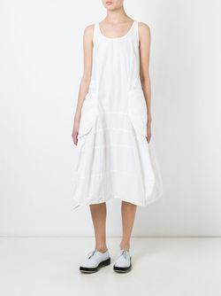 Baggy Dress Rundholz                                                                                                              белый цвет
