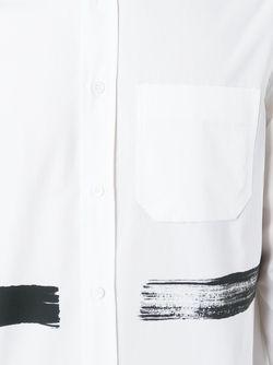 Brushstroke Print Shirt OAMC                                                                                                              белый цвет