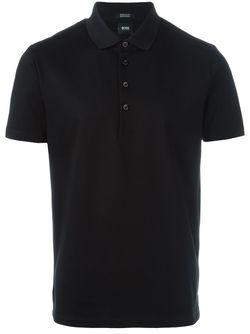 Классическая Футболка-Поло Boss Hugo Boss                                                                                                              черный цвет