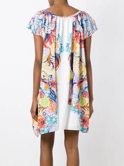 Платье С Цветочным Принтом Tsumori Chisato                                                                                                              многоцветный цвет
