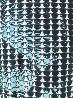 Футболка С Принтом Солнцезащитных Очков Ultràchic                                                                                                              синий цвет