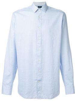 Patterned Shirt Hackett                                                                                                              синий цвет